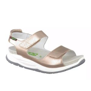 Sano by Mephisto Womens Gold  Sandals